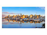 Panorama of Vancouver Skyline