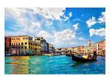 Venice Canal Rialto Bridge
