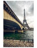 Eiffel Tower Jena Bridge Paris