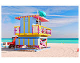 Art Deco Lifeguard House Miami