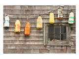 Colorful Buoys in Peggys Cove