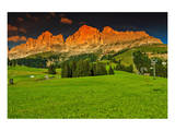 Italian Alps Rosengarten Group