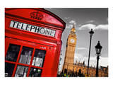 Red Telephone Big Ben London
