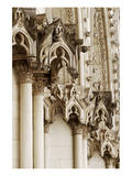Gothic Cathedral Stone Detail