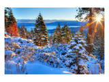 Sunrises Over Lake Tahoe CA