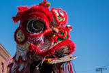 Chinese Dragon during Golden Dragon Parede