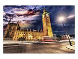 Westminster & Big Ben By Night