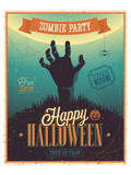 Halloween Zombie Party