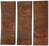 Adara Copper Wall Art Set