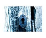 Old Bluish Lock
