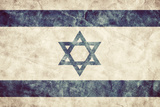 Israel Grunge Flag Vintage  Retro Style High Resolution  Hd Quality Item from My Grunge Flags Co