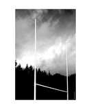 Wood Rugby Posts
