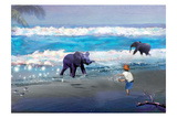 Elephant Joy Reproduction d'art par Nancy Tillman