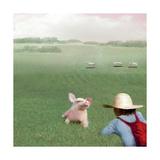 If You Were A Pig Reproduction d'art par Nancy Tillman
