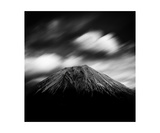 Clouds Over Mount Fuji  Shizuoka Prefecture  Japan