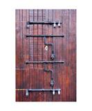 Locked door  Taxco Mexico