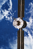 A Satellite Orbiting above the Earth