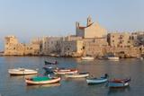 Harbour  Giovinazzo  Puglia  Italy