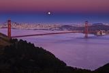 Solstice Moon over San Francisco