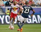 Aug 2  2014 - MLS: New England Revolution vs New York Red Bulls - Thierry Henry  Jose Goncalves