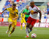 Jul 12  2014 - MLS: Columbus Crew vs New York Red Bulls - Wil Trapp  Thierry Henry