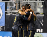 Aug 24  2014 - MLS: San Jose Earthquakes vs Philadelphia Union - Maurice Edu  Andrew Wenger