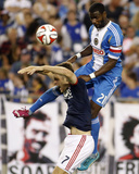 Jun 28  2014 - MLS: Philadelphia Union vs New England Revolution - Maurice Edu  Patrick Mullins