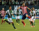 Apr 12  2014 - MLS: Chivas USA vs Portland Timbers - Maximiliano Urruti  Carlos Bocanegra