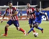 Apr 26  2014 - MLS: Chivas USA vs San Jose Earthquakes - Yannick Djalo  Carlos Bocanegra