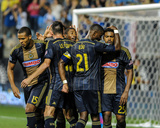 Aug 24  2014 - MLS: San Jose Earthquakes vs Philadelphia Union - Maurice Edu  Sheanon Williams