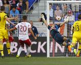 Jul 12  2014 - MLS: Columbus Crew vs New York Red Bulls - Luis Robles  Adam Bedell