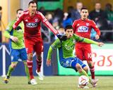 2014 MLS Playoffs: Nov 10  FC Dallas vs Seattle Sounders - Gonzalo Pineda  Blas Perez