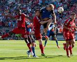 Jun 7  2014 - MLS: San Jose Earthquakes vs Toronto FC - Steven Lenhart  Steven Caldwell