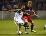 Aug 2  2014 - MLS: Columbus Crew vs Chicago Fire - Jeff Larentowicz  Federico Higuain