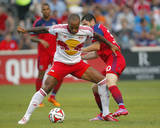 Aug 10  2014 - MLS: New York Red Bulls vs Chicago Fire - Razvan Cocis  Thierry Henry