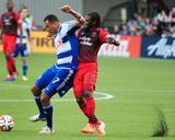 Jun 11  2014 - MLS: FC Dallas vs Portland Timbers - Diego Chara  Blas Perez