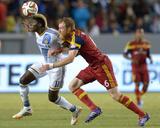 Jul 12  2014 - MLS: Real Salt Lake vs Los Angeles Galaxy - Gyasi Zardes  Nat Borchers