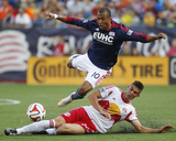 Jun 8  2014 - MLS: New York Red Bulls vs New England Revolution - Teal Bunbury  Matt Miazga
