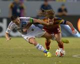 Jul 12  2014 - MLS: Real Salt Lake vs Los Angeles Galaxy - Kyle Beckerman  Robbie Keane
