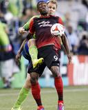 Jul 13  2014 - MLS: Portland Timbers vs Seattle Sounders - Fanendo Adi  Chad Marshall