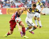 Aug 2  2014 - MLS: Columbus Crew vs Chicago Fire - Jeff Larentowicz