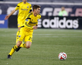 2014 MLS Playoffs: Nov 9  Columbus Crew vs New England Revolution - Wil Trapp