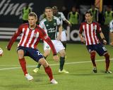 Apr 12  2014 - MLS: Chivas USA vs Portland Timbers - Will Johnson  Eriq Zavaleta