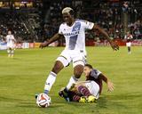 Aug 20  2014 - MLS: Los Angeles Galaxy vs Colorado Rapids - Gyasi Zardes  Marc Burch