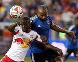 Jul 19  2014 - MLS: San Jose Earthquakes v NY Red Bulls - Bradley Wright-Phillips  Victor Bernardez