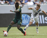 Aug 2  2014 - MLS: Portland Timbers vs Los Angeles Galaxy - Kalif Alhassan  Robbie Rogers