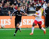 2014 MLS Playoffs: Nov 8  New York Red Bulls vs DC United - Peguy Luyindula  Sean Franklin