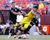 Jun 7  2014 - MLS: Columbus Crew vs DC United - Jairo Arrieta  Bobby Boswell