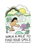 Jeremyville: Walk A Mile To Find Your Smile