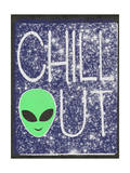 Chill Out - Alien Head Design